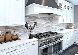 White Kitchen Backsplash Tiles | modern kitchen backsplash tile modern white kitchen subway marble