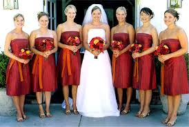 bridal party dresses orange bridesmaid dresses for wedding party