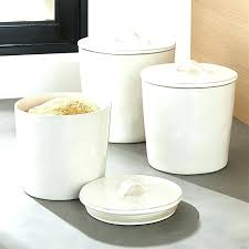 white canisters for kitchen porcelain kitchen canisters sold set x 6 kitchen canisters white
