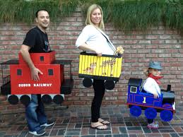 little thomas the tank engine and family costumes halloween