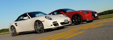 vs porsche 911 turbo comparo nissan gt r versus porsche 911 turbo leblanc s