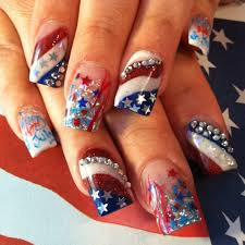 fourth of july nail design 6 fourth of july nail designs woman