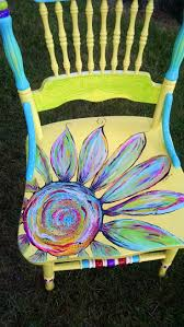 Decorative Paintings For Home Best 25 Painted Chairs Ideas On Pinterest Hand Painted Chairs