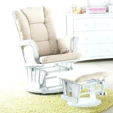 Rocking Chair Gliders For Nursery Extraordinary Baby Glider And Ottoman Nursery Rocking Chair