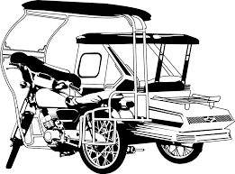 philippine tricycle png philippine tricycle vector drawing clipartxtras