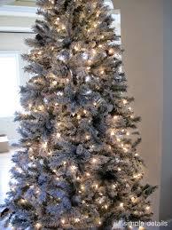 modest ideas wal mart trees ge pre lit 7 white