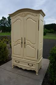 Ethan Allen Bedroom Furniture Used Ethan Allen Legacy Armorie Shabby Cottage Chic Armorie French