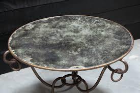 vintage coffee table with mirror top vintage u0026 design european