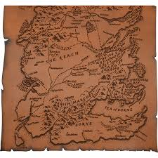 leather map leather map of westeros dk1072 from armoury