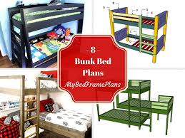 Free Bunk Bed Plans by 8 Free Bunk Bed Plans Free Bed Frame Plans How To Build A Bed