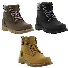 womens caterpillar boots uk caterpillar cat willow womens leather boots size uk 3 8 ebay