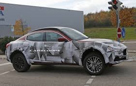 maserati camo maserati ghibli crossover tester is a funky looking suv mule