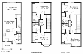 apartment floor plans 48 west