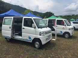 mitsubishi minicab van ev showdown in hong kong