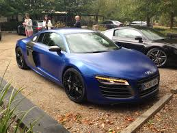 Audi R8 Matte Black - audi r8 v10 in matte blue audi
