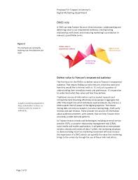 towson peoplesoft towson university u0027s strategic opportunity proposal for a digital mar u2026