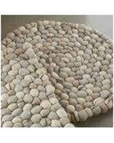 pebble rug bargains on felted wool pebble rug round