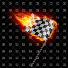 Images Of Racing Flags Burning Checkered Racing Flag Royalty Free Vector Clip Art Image