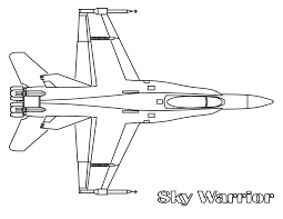 fighter jet coloring page coloring pages online
