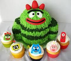 yo gabba gabba birthday cakes find the supplies ideas u2014 wow pictures