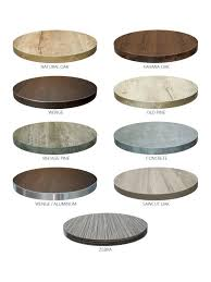 36 round cafe table high pressure laminate hpl commercial table tops many sizes