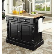 butcher block kitchen island by crosley furniture
