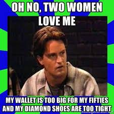 Chandler Meme - chandler bing meme friends by ninjago365 on deviantart