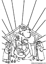 printable coloring pages nativity scenes nativity scene bible coloring sheets 01 church pinterest bible