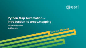 Python Map Function Esri Uc 2014 Technical Workshop Python Map Automation