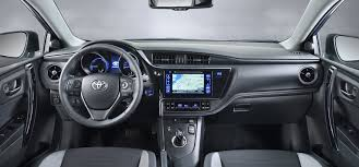 toyota auris toyota auris facelift 2015 first pictures by car magazine