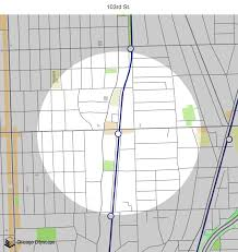 Chicago Street Map by Map Of Building Projects Properties And Businesses Near The