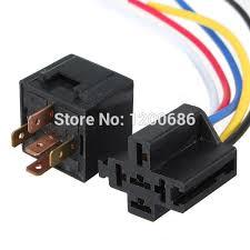 12v 30 40 a amp 5 pin 5p automotive harness car auto relay socket