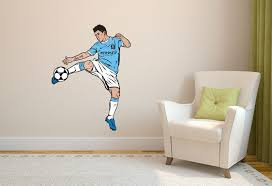 football wall sticker gallery manchester evening news