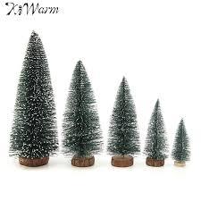 kiwarm mini artificial tree ornaments figurines
