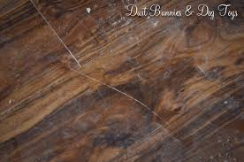Scratched Laminate Wood Floor Flooring