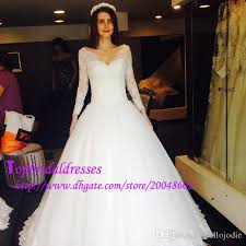 discount china made simple wedding dresses long sleeves sheer lace