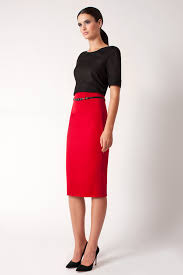 high waisted pencil skirt lyst black halo high waist pencil skirt online exclusive in