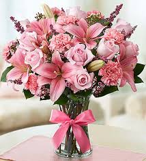 pink bouquet expressions of pink bouquet floral shop an online flower