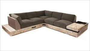 How To Build A Sectional Sofa Diy Sectional Sofa And The Side Stretchers Are Used To Reinforce