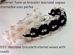 bracelet macrame images Tutoriel bracelet macram vague ternelle avec des perles diy jpg
