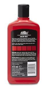 formula 1 color wax for cars 473 ml red amazon in car u0026 motorbike