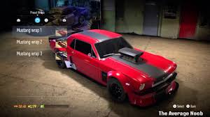 build ford mustang 2015 nfs 2015 drift build 65 ford mustang