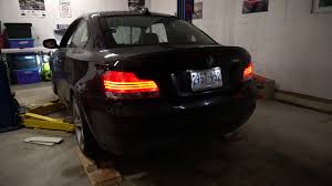 fastest bmw 135i 2010 bmw 135i berk axle back vs stock exhaust n54
