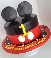 mickey mouse 1st birthday cake cake by bianca cakesdecor