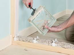 Block Wall Ideas by How To Build An Interior Glass Block Wall How Tos Diy