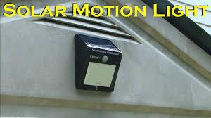 solar powered motion sensing 12 led waterproof light innoo tech