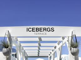 icebergs has opened a terrace bar for summer
