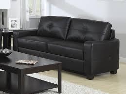 Coaster Leather Sofa Black Leather Sofa By Coaster 502721 Coaster