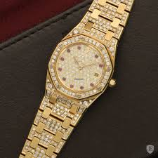 bracelet diamond watches images Audemars piguet royal oak diamond bracelet watch in beverly hills