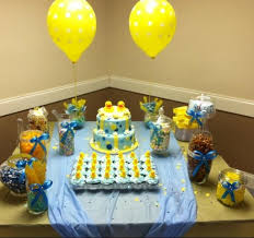 rubber duck baby shower ideas baby shower cake and candy table awesome rubber ducky baby shower